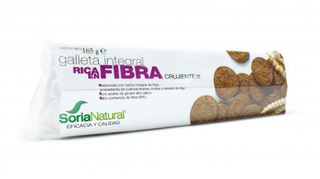Galletas integrales rica en fibra